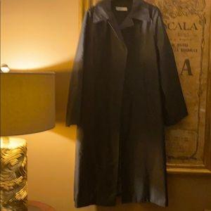 Prada 100%  Silk Taffeta Coat - Made in Italy